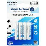 EverActive Pro, AAA, 1000mAh x 4
