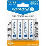 EverActive Pro, AA, 2500mAh x 4