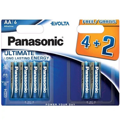 Panasonic-Evolta-AA-BL4+2